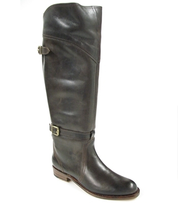 Frye - Dark Brown Leather Dorado Riding Boots