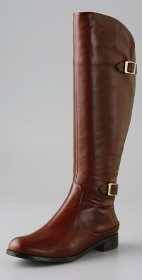 Modern Vintage Shoes Janet Double Buckle Flat Boot